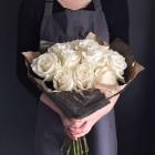 Букет из 11 белых роз № 367