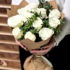 Букет из 11 белых роз № 368