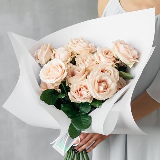 Букет из 11 розовых роз № 308