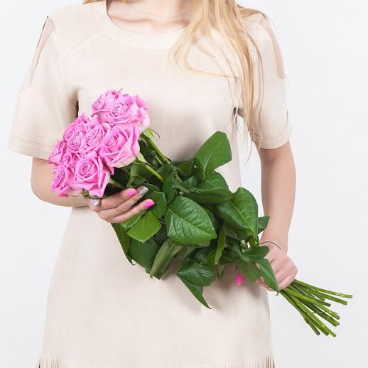 Букет из 11 розовых роз № 309