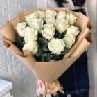Букет из 15 белых роз № 312