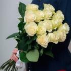 Букет из 15 белых роз № 313