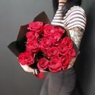 Букет из 15 красных роз № 315