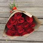Букет из 15 красных роз № 316