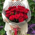 Букет из 21 красной розы № 325
