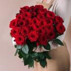 Букет из 25 красных роз № 329