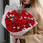 Букет из 25 красных роз № 331