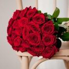 Букет из 27 красных роз № 334