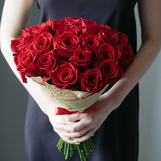 Букет из 27 красных роз № 335
