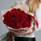 Букет из 31 красной розы № 338