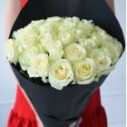 Букет из 35 белых роз № 339