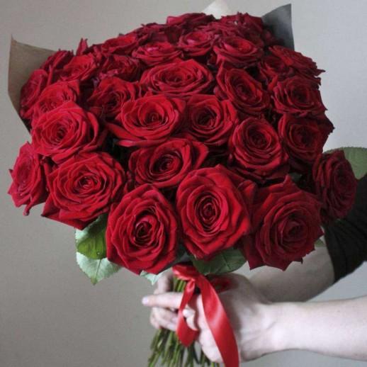Букет из 35 красных роз № 340