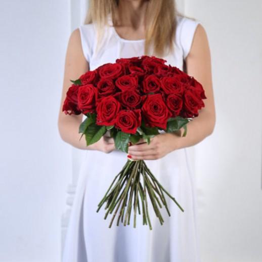 Букет из 35 красных роз № 341