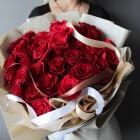 Букет из 35 красных роз № 342