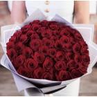 Букет из 51 красной розы № 349