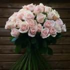 Букет из 51 розовой розы № 353