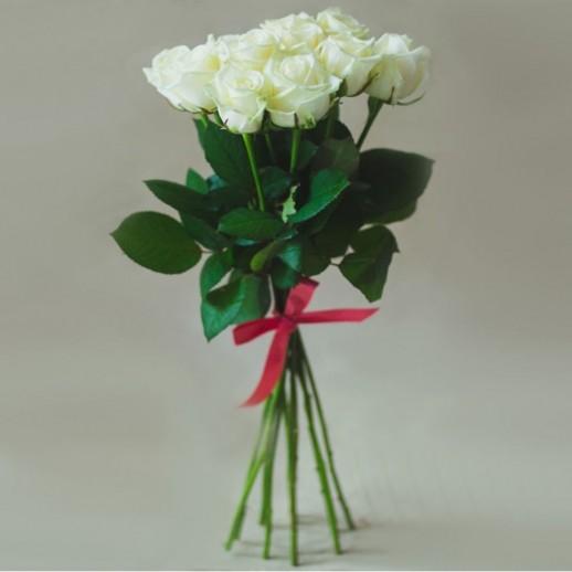 Букет из 7 белых роз № 289