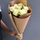 Букет из 7 белых роз № 290