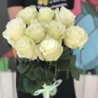 Букет из 9 белых роз № 295