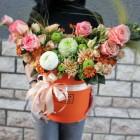 Коробка с цветами №116