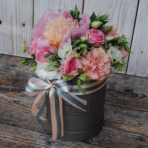Коробка с цветами №126