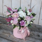 Коробка с цветами №132