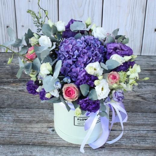 Коробка с цветами №133