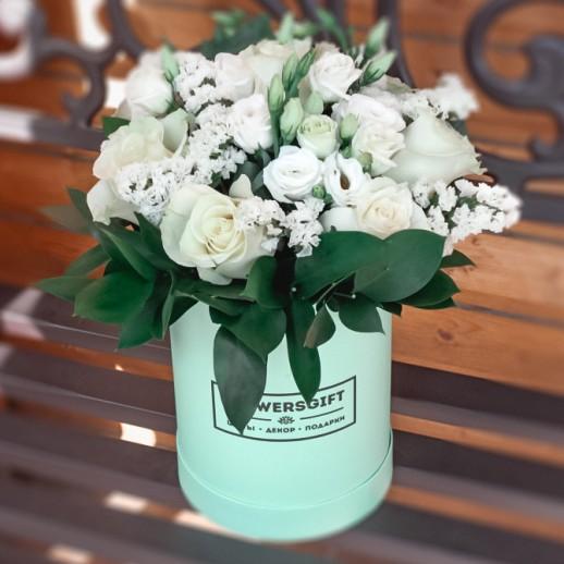 Коробка с цветами №134