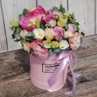 Коробка с цветами №135
