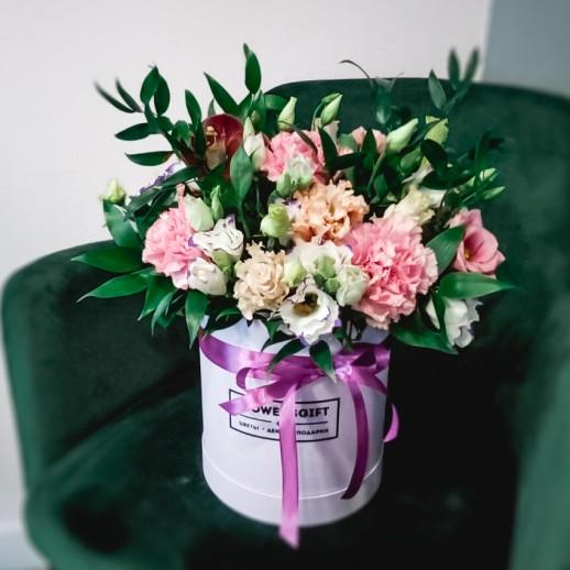 Коробка с цветами №141
