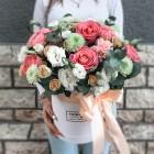 Коробка с цветами №160