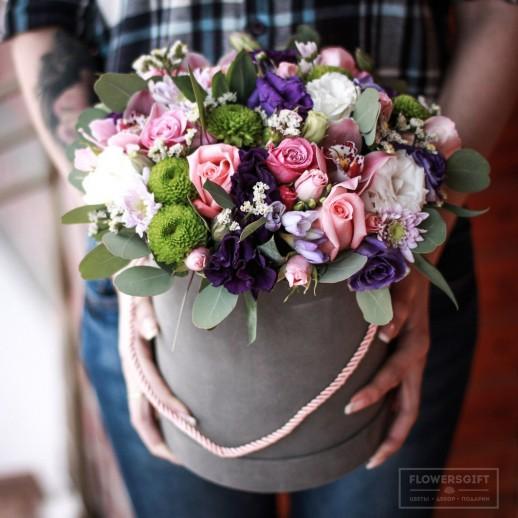 Коробка с цветами №180