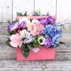 Ящик с цветами №182