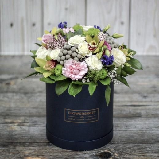 Коробка с цветами №186