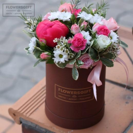 Коробка с цветами №203