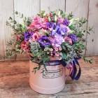 Коробка с цветами №219