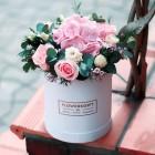 Коробка с цветами №220