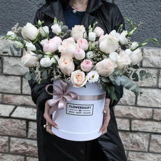 Коробка с цветами №231