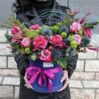 Коробка с цветами №234