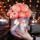 Коробка из 17 розы №235