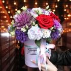 Коробка с цветами №239