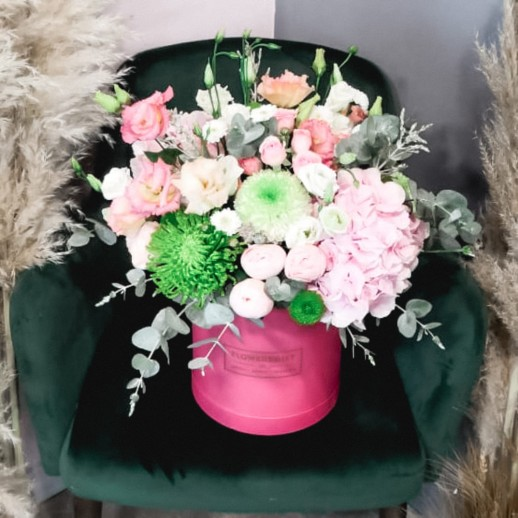 Коробка с цветами №254
