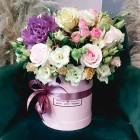 Коробка с цветами №258