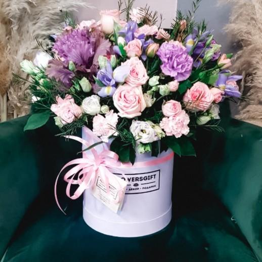 Коробка с цветами №259