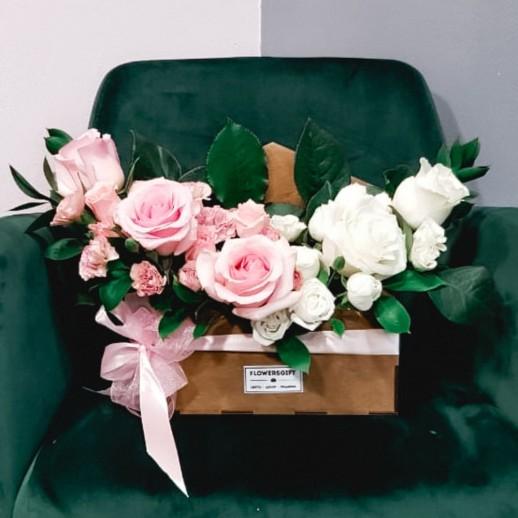 Конверт с цветами №266