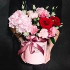 Коробка с цветами №272