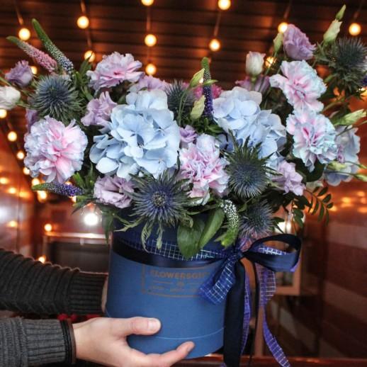 Коробка с цветами №282