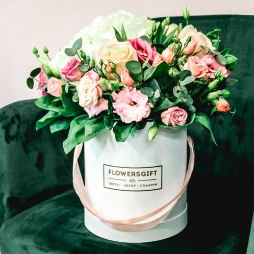 Коробка с цветами №38