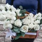 Коробка из роз №51