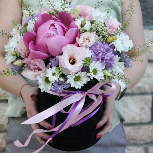 Коробка с цветами №52